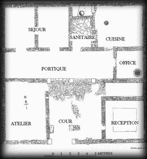 Habitat grece ancienne antique dieux mythologie troie guerre for Plan d un maison